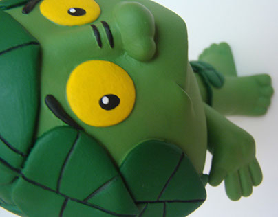 El Duende Verde - Escultura