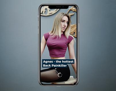 Agnes back painkiller - mobile app