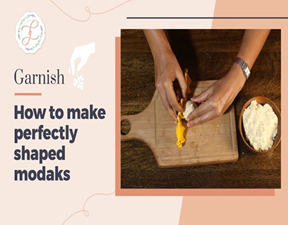 Food Stylist : How to make perfectly shaped modaks