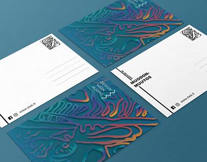 Design Week Kuopio 2020 Event - Visual Identity