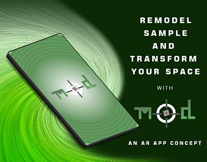 AR: MOD - Interior Remodeling and Sampling AR app