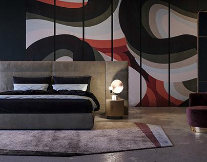 Bedroom Baxter & 3d models free
