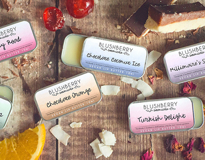 Blushberry Botanicals / Brand, Packaging + Photography