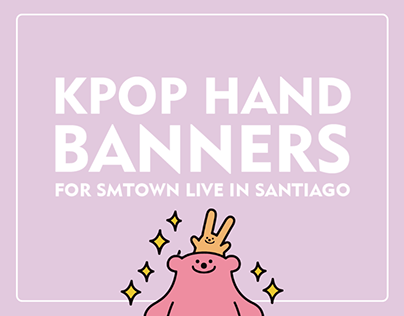 Kpop Hand Banners for SMTown Live