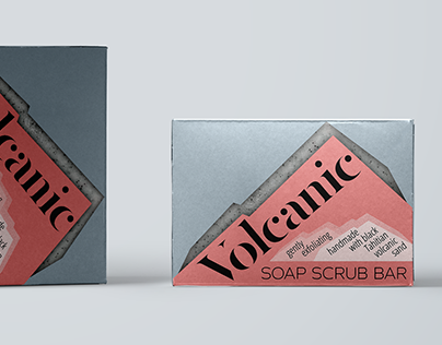 Soap bar beauty product packaging