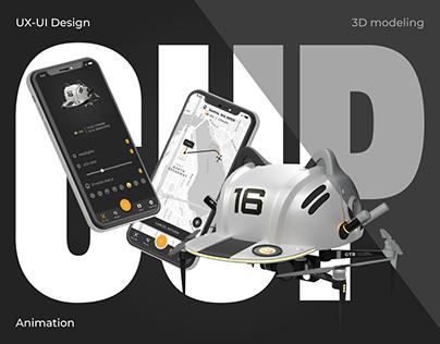 Control drone - Mobile application