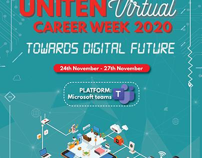 UNITEN Virtual Career Week 2020 General Posters