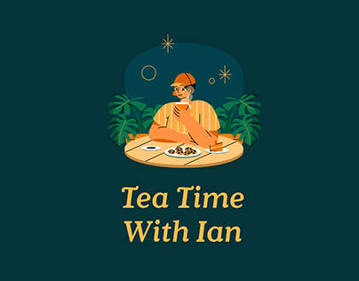 Tea Time With Ian Podcast • Visual Identity