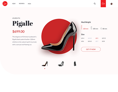 Shoe Store Product Page