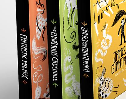 Roald Dahl Covers