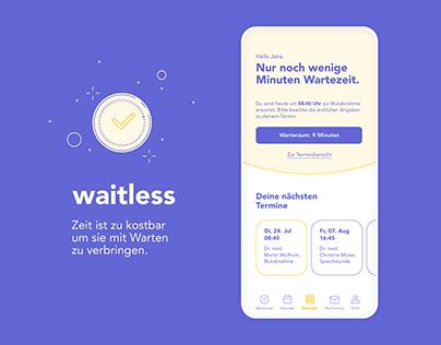 waitless — Digitaler Warteraum