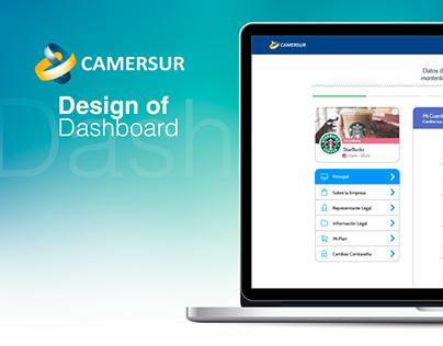 Camersur - Dashboard