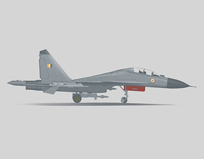 Portraits of IAF Fighter Jets
