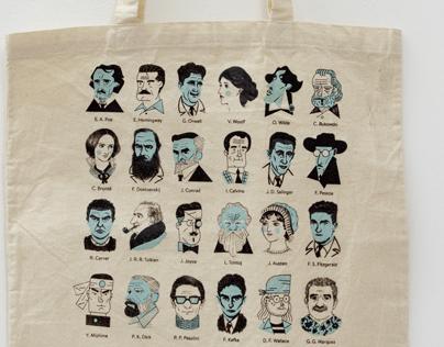 "Tote Bags ""Writers"" #3"
