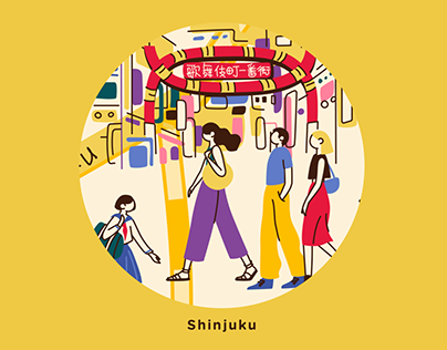 WeChat Mini Program Tokyo Map