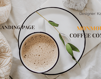 Landing page/ Coffee house