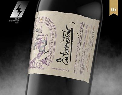 Entrometido | Wine label