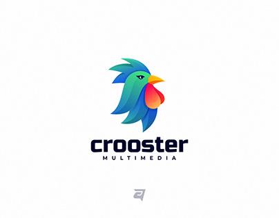 Colorful Logo Design CROOSTER