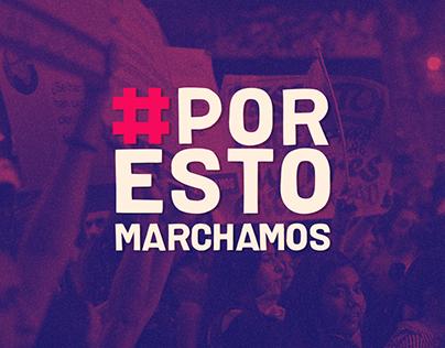 #PORESTOMARCHAMOS