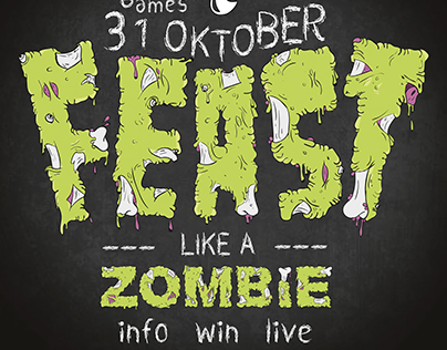 3rd School Assignment - Food Festival - Zombie Feast