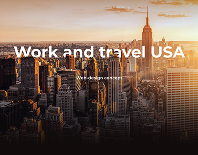 Work and Travel Promo Page