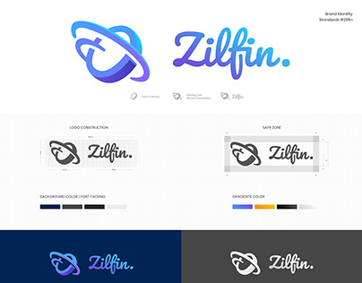 Zilfin Logo Branding #logodesign #brandbook