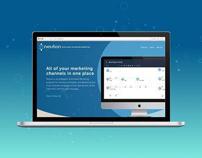 Neuton Marketing Landing Page