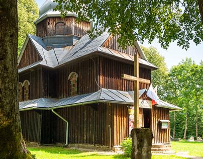 Charming orthodox churches in Bieszczady