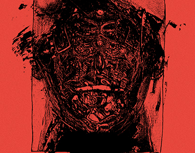 7 deadly sins — lithography / risography