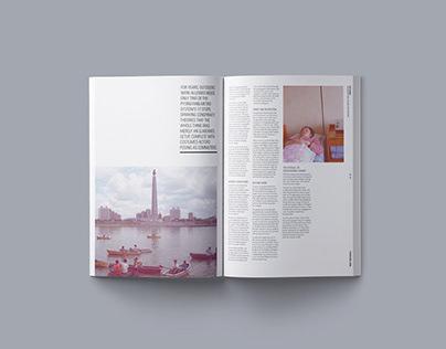 Borderlands travel magazine concept