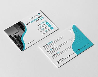 Post Card Template Design