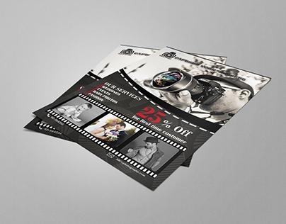 FLYER DESIGN FOR STUDIO PHOTOGRAPHY