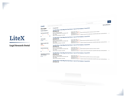 LiteX - Legal Research Portal
