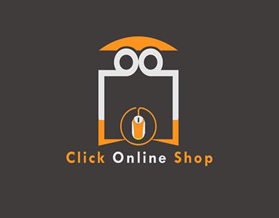 Click Online Shop Logo Design