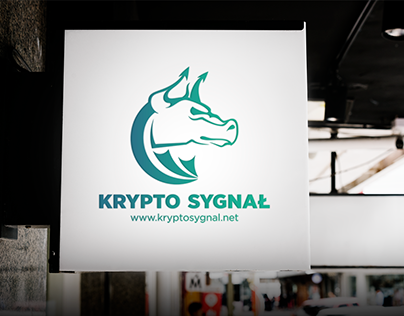 Krypto Sygnał - Logo and Poster