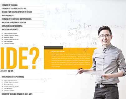 Maybank Innovation Report Proposal '15