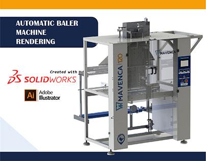 AUTOMATIC BALER MACHINE
