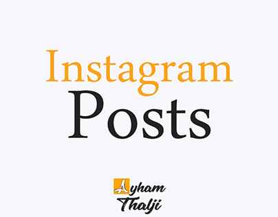 Instagram Posts
