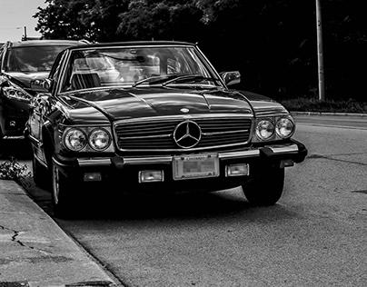 Mercedes Benz 450 SL Classic