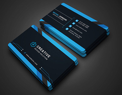 Professional and Unique Business Card