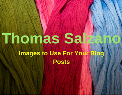 Thomas Salzano - What Kind Of Images Can be the Part of