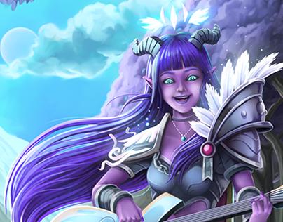 Warcraft Character design