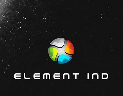 ELEMENT IND   Logo Design