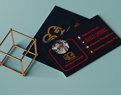 Business Card Design With profile