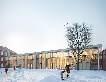 Lundtofte School and Cultural Center