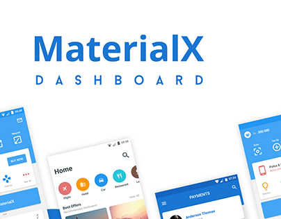 Materialx - Dashboard