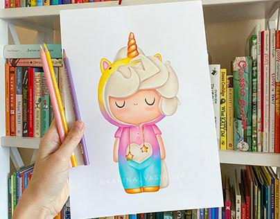 Momiji Dolls Illustrations