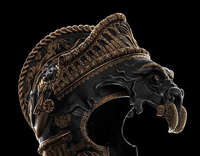 Full CGI Parade Burgonet