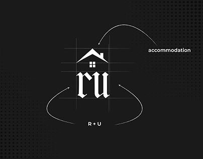 Rent Us | Accommodation Logo Branding