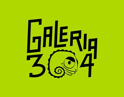 Galeria 304   Branding